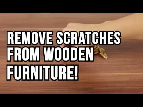 Amazing Remove Scratches From Wooden Furniture Lifehack
