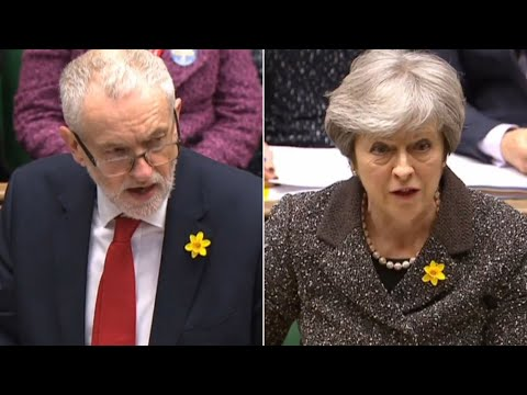 May 'incapable of delivering a coherent plan for Brexit', says Corbyn