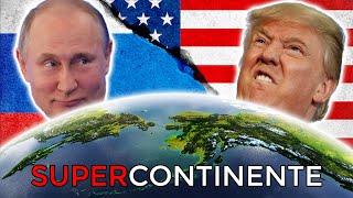 Cómo Rusia y USA pelean por crear un Supercontinente