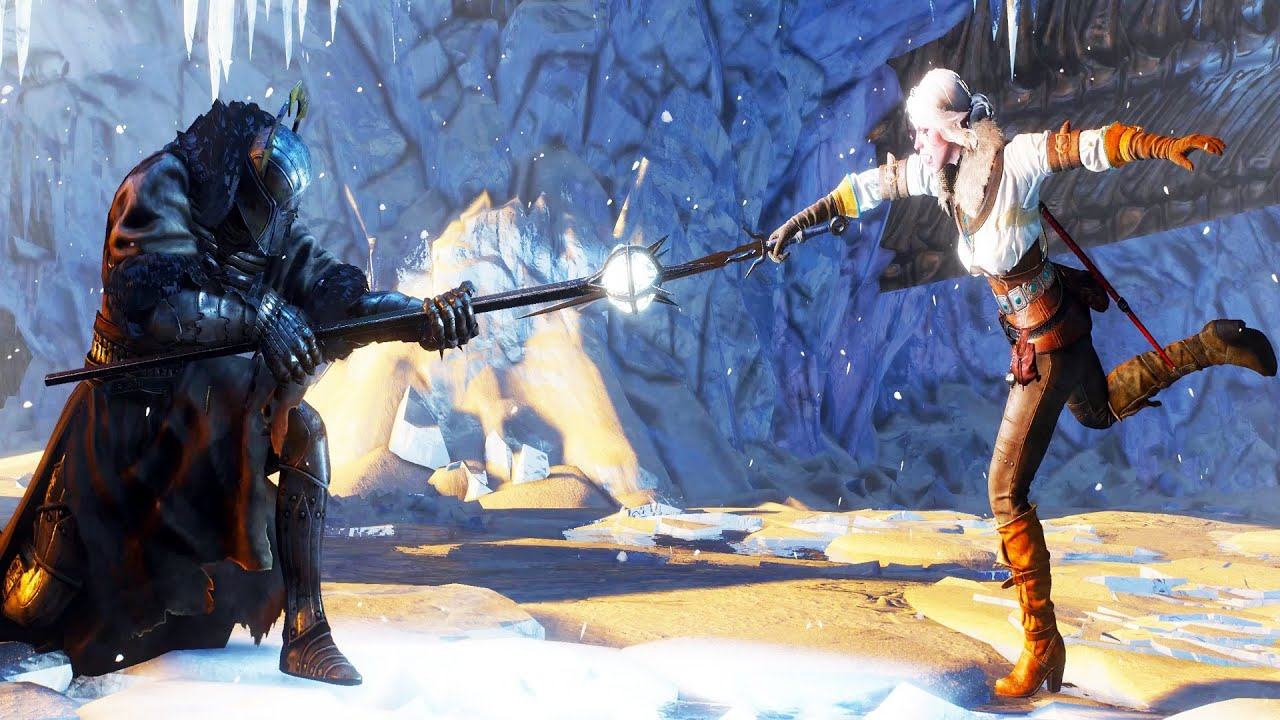 Witcher 3 caranthir boss fight hard mode 4k 60fps youtube - Caranthir witcher ...