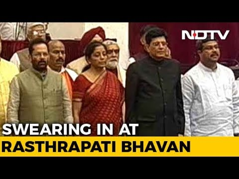 9 New Union Ministers Take Oath As PM Modi Revamps Cabinet