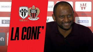 VIDEO: La conf' de Patrick Vieira avant Angers - Nice