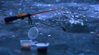 Зимняя рыбалка на Днепре в Смоленской области(После пяти дней оттепели были рады тому, что лёд есть. На льду вода только возле берега. Бур не понадобился..., 2014-12-23T14:25:16.000Z)