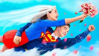 زفاف بطل خارق! 10 لحظات ظريفة ومحرجة!