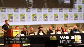 The Hateful Eight At San Diego Comic-Con