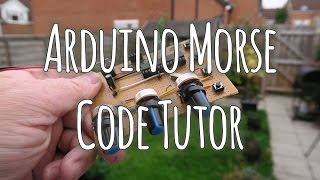 arduino based morse code tutor ham radio projects