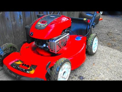 Oil Everywhere And A Toro Lawnmower That Won T Start Or Run Repair Briggs 7 25 Hp Engine