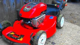 OIL EVERYWHERE and a TORO LAWNMOWER that Won't START or RUN. Repair a BRIGGS 7.25 hp Engine