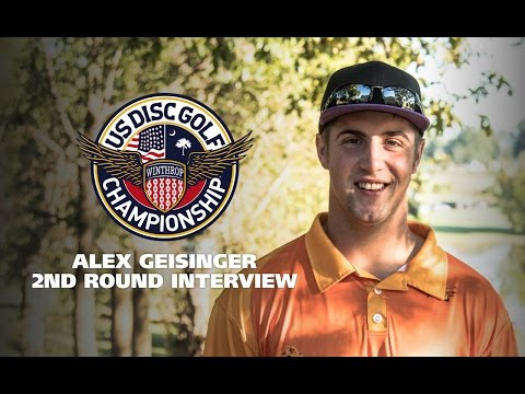 USDGC 2015 2nd Round Interview - Alex Geisinger