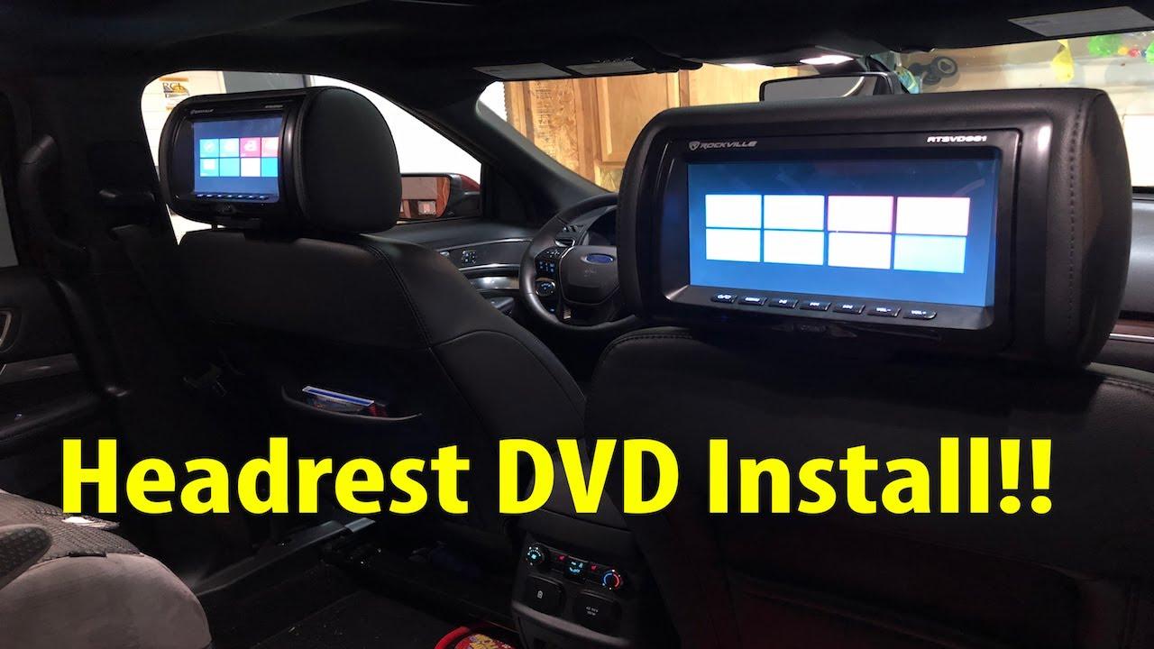 Dvd Headrest Installation Wiring
