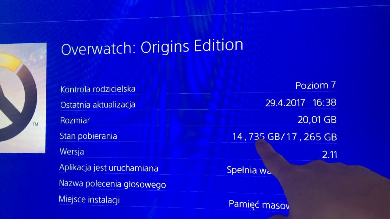 ps4 overwatch download problem