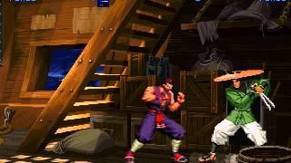 MUGEN : Ninjas Through Time - Eiji vs Zantetsu