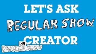 Rapid Fire Questions | J.G. Quintel | Cartoon Network