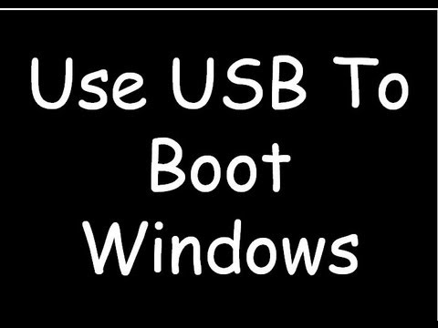 how to convert usb into bootable drive