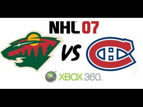 NHL 07 - Minnesota Wild vs. Montreal Canadiens