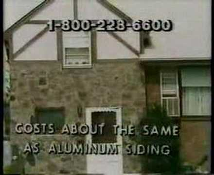 Garden State Brickface Commercial (1986)   YouTube