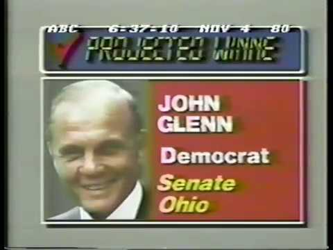 Election Night 1980 ABC News Coverage