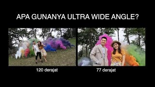 ULTRA WIDE ANGLE BUAT APA? | Review Samsung Galaxy A7 2018