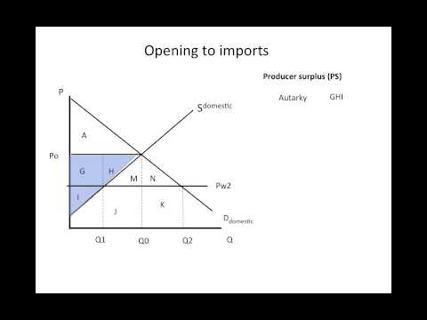 Costs and benefits of importing goods