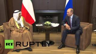 Russia: Putin discusses the Middle East with Kuwaiti Emir in Sochi