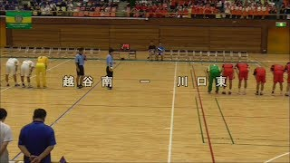 ハンドボール 2019インターハイ埼玉予選 川口東vs越谷南