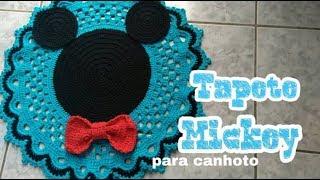 #Tapete Mickey para canhoto