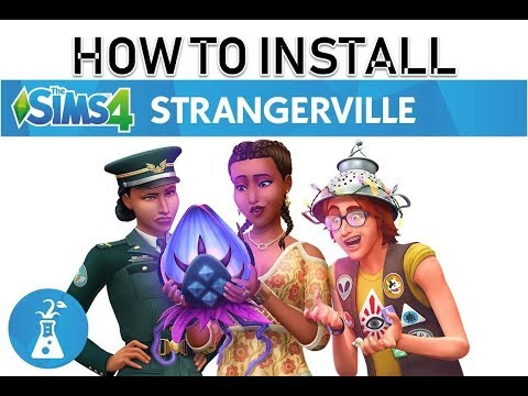 THE SIMS 4 Strangerville - How to download & install By Hafiz Comp