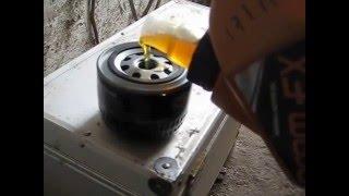 Таврия 1102 (Как заменить масло в двигателе)