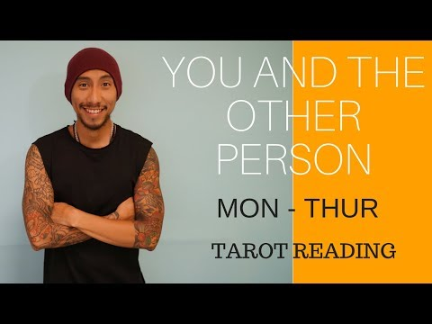 """CANCER """" YOU AND THE OTHER PERSON """" LOVE SEPTEMBER 25-28 TAROT READING"""