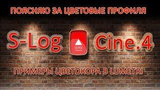 Подробно о S Log и Cine.4 И цветовым полям. Как снимать в чем преимущество и как красить.