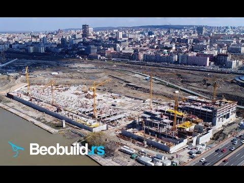 Beograd na vodi - Tržni centar BW Galerija - mart 2018. [4K UHD]