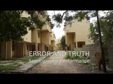 Error and Truth, Bangalore 2012