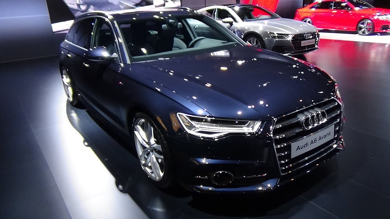 2018 audi a6 avant s line sport edition exterior and interior auto show brussels 2018 youtube. Black Bedroom Furniture Sets. Home Design Ideas