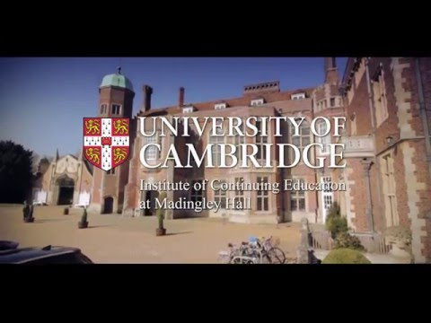 Studying at the University of Cambridge Institute of Continuing Education
