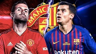 Coutinho To Join Manchester United In CRAZY Juan Mata Swap Deal?! | Transfer Review