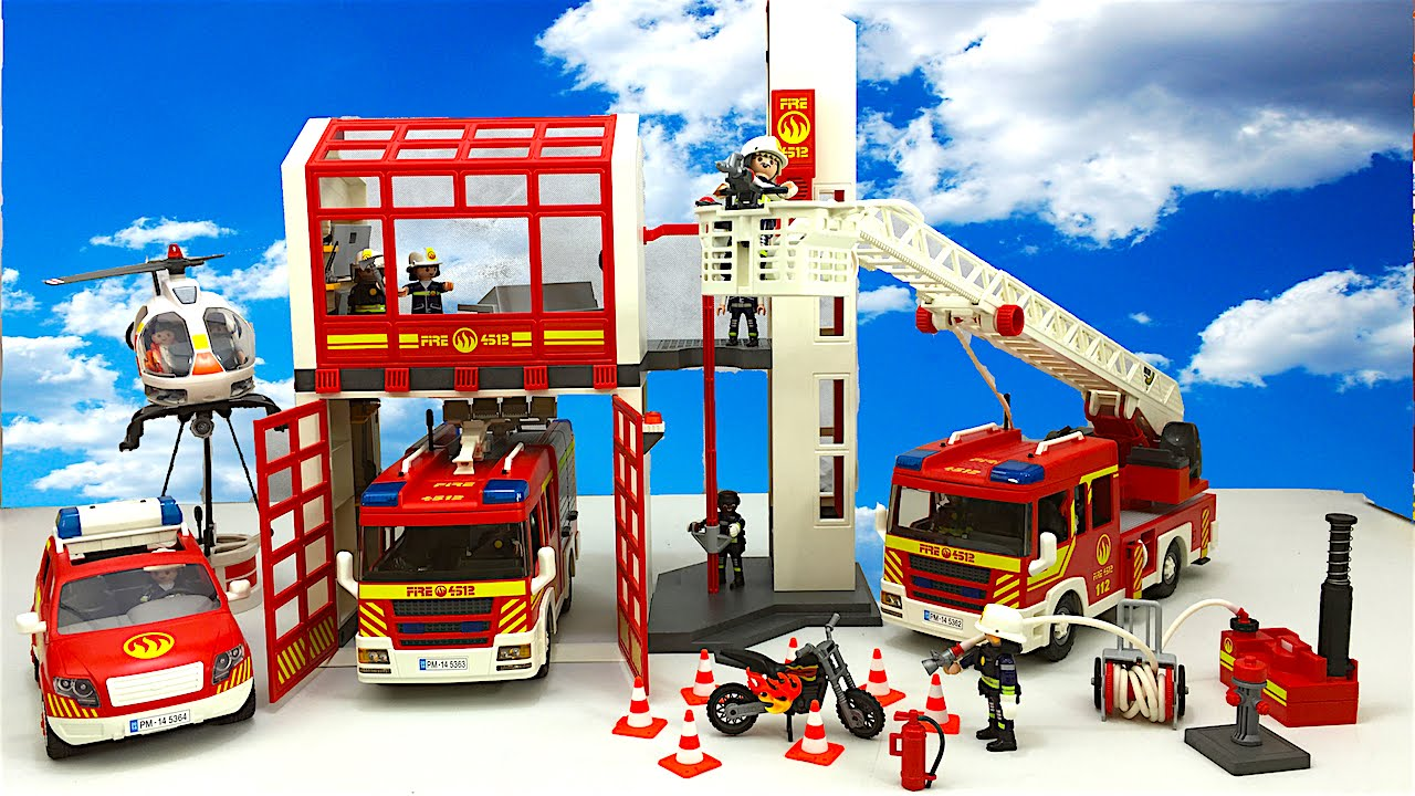 Playmobil Fire Engine Playmobil Free Engine Image For