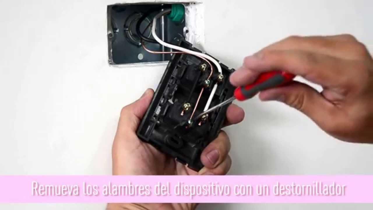 Como instalar un tomacorriente GFCI Legrand  YouTube