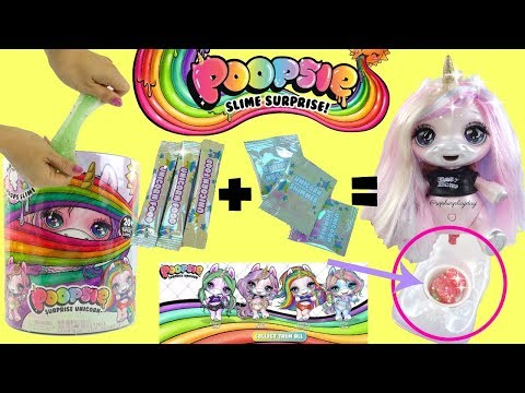 Poopsie Surprise Unicorn Oopsie Starlight Unboxing Unicorn Magically Makes Real Slime