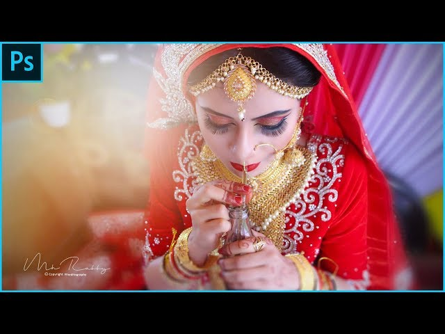 Best Way Of Editing Wedding Photography In Adobe Photoshop Cc - New Tutorial 2018