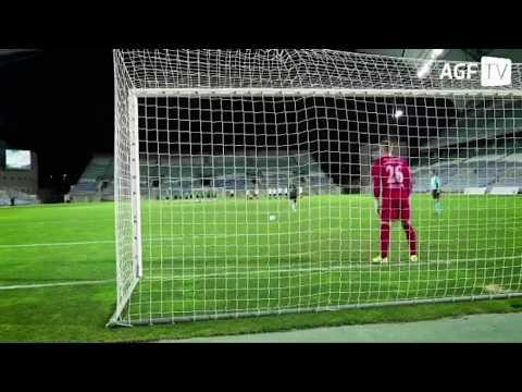 Aleksandar Jovanović briljira na golu Arhusa 5.2.2018.