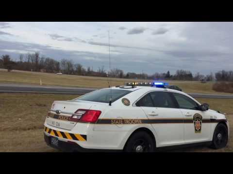 Pennsylvania State Police Trooper Responding Off Road