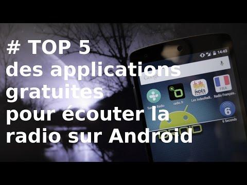 [TOP 5] Applications gratuites pour écouter la radio sur Android