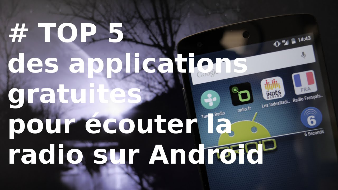 Les applications Android populaires