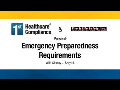 Emergency Preparedness Requirements