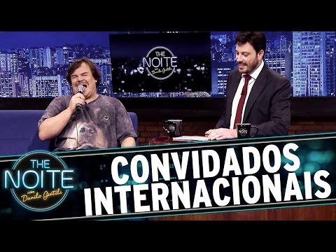The Noite Com Danilo Gentili - Convidados Internacionais