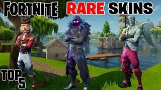 Top 5 Rarest Fortnite Skins