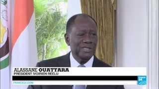"""Alassane Ouattara réélu avec 83,66 % des voix : """"Cette confiance renouvelée, c"""