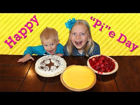 National Pie (Pi) Day Celebration  || Mommy Monday