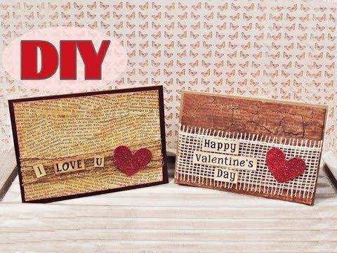 Valentinstagskarten Selber Basteln #3   Valentineu0027s Day Cards #3   DIY