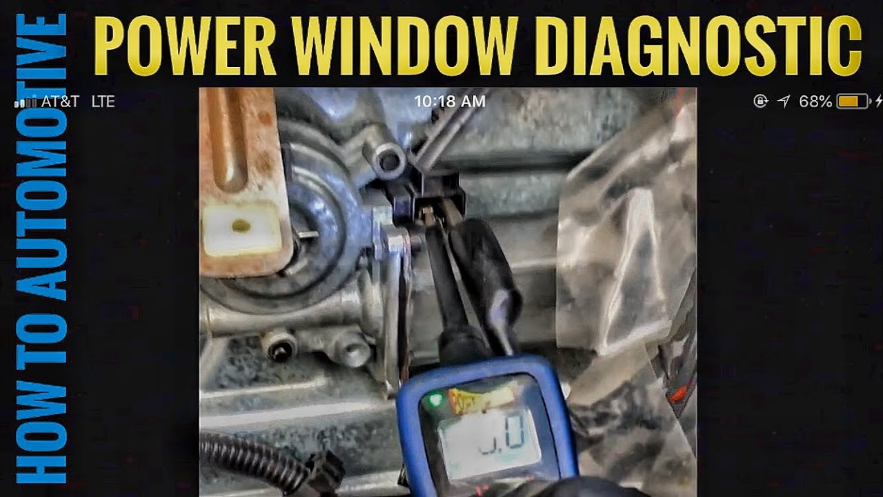 How To Test A Power Window Motor With Probe 2 Youtube Electrical Circuit Tester Hook Heavy Duty Probecircuit Howtoautomotive Autorepair Brianeslick